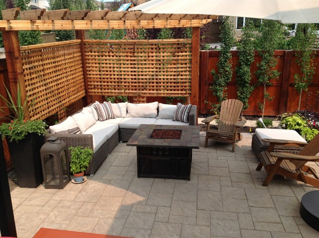 Nw Calgary Contemporary Patio By European Garden