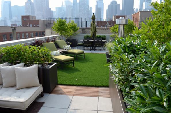 NYC Garden Portfolio Contemporary Patio New York By Jeffrey Erb Landscape Design