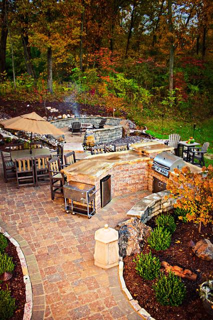 O'Fallon Outdoor Space traditional-patio
