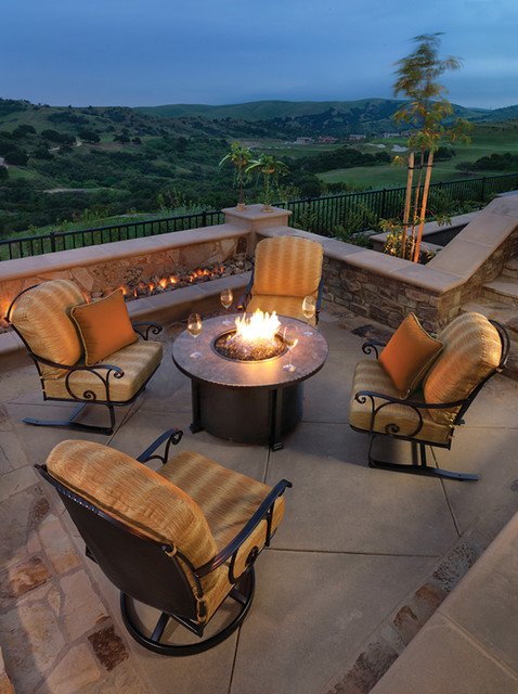 Santorini Patio Furniture: O.W. Lee Santorini Fire Pit