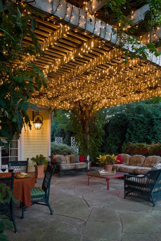 Patio - traditional patio idea in Chicago