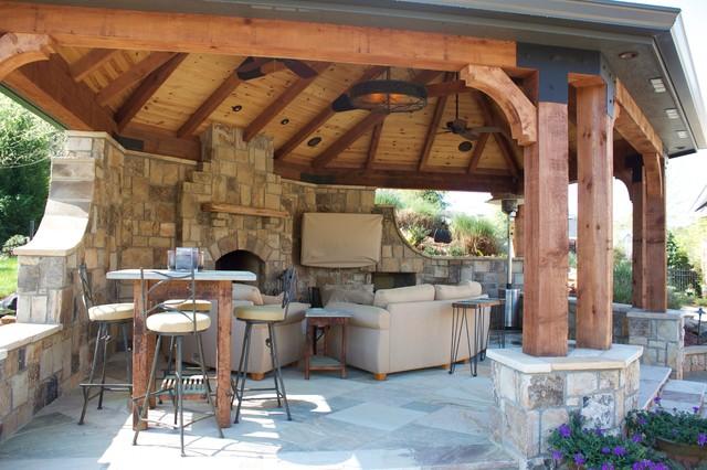 Oak Mountain traditional-patio