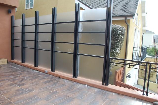 Oakland Hills Glass Railing