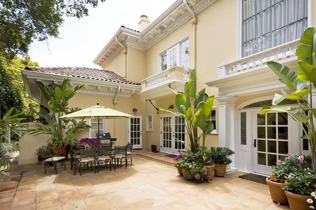 Oakland Hills Mansion mediterranean-patio