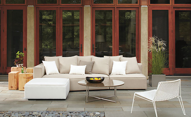 Oasis Modular Sectional by R&B contemporary-patio