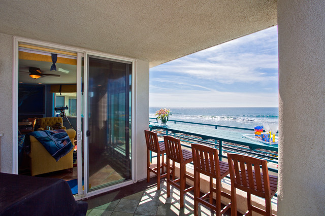 Oceanfront Condo Tropical Patio San Diego By
