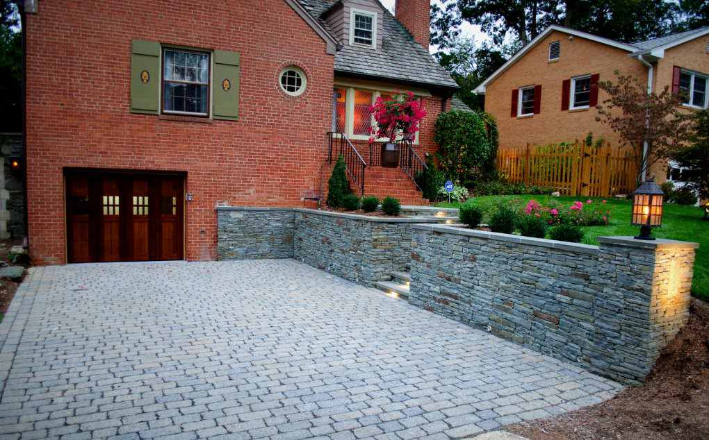 Old Town Driveway & Patio Renovation