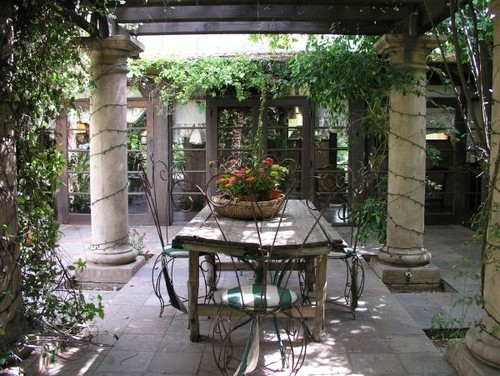 Old World Gallery eclectic patio