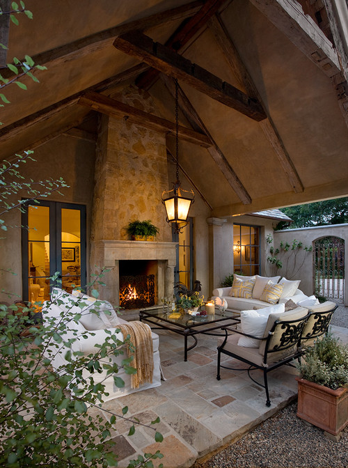Cup half full indoor outdoor living - Covered outdoor living spaces ...