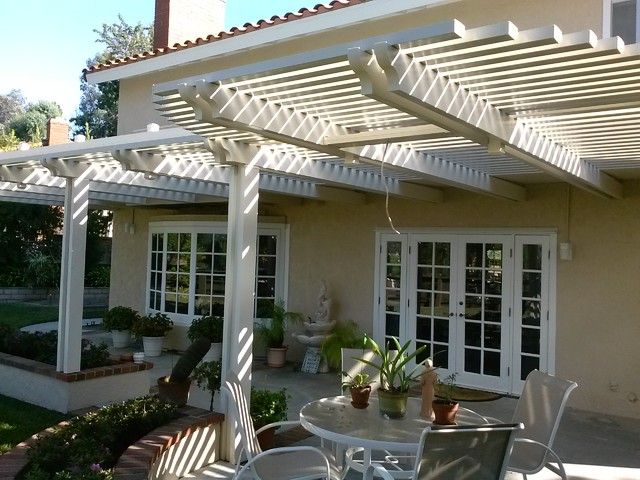 Open patio covers traditional patio orange county for Open covered patio ideas