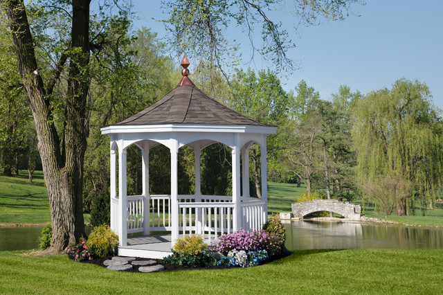 Open Style Majestic Gazebo Traditional Patio Other
