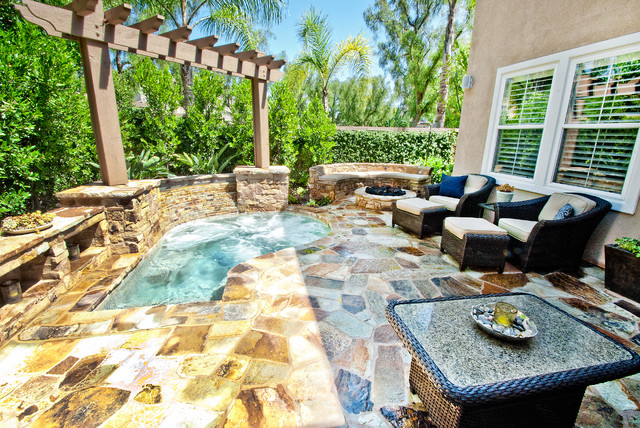 Orange County mediterranean-patio