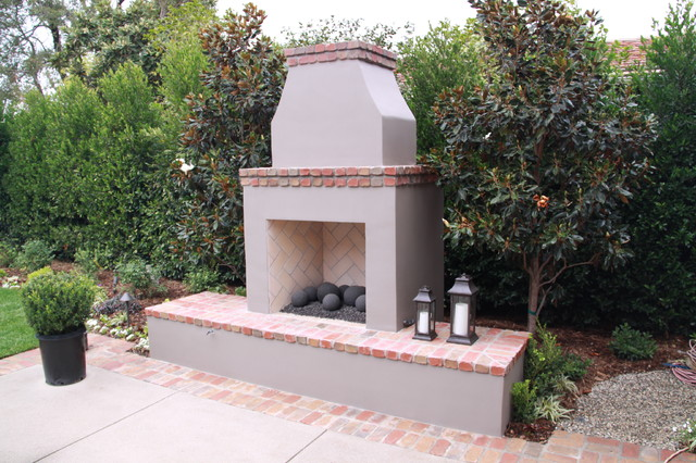 ORCO Fireplaces Traditional Patio Orange County By ORCO Block H