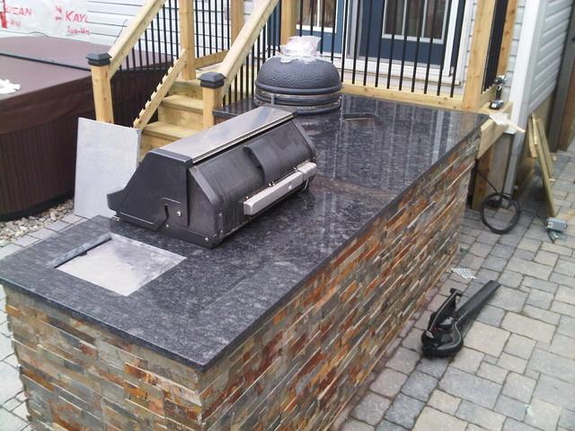 Ottawa Kitchen Granite Countertops traditional-patio