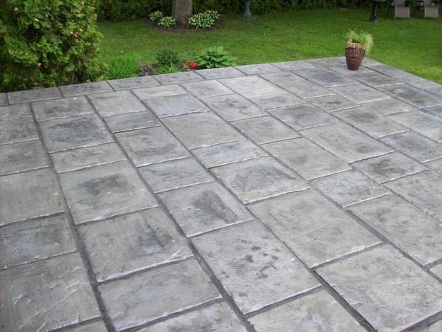 Concrete Patio Work : Our concrete work