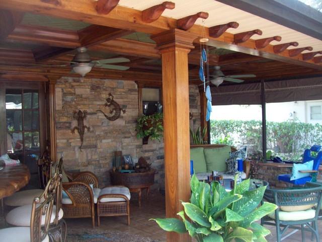 our home mediterranean-patio