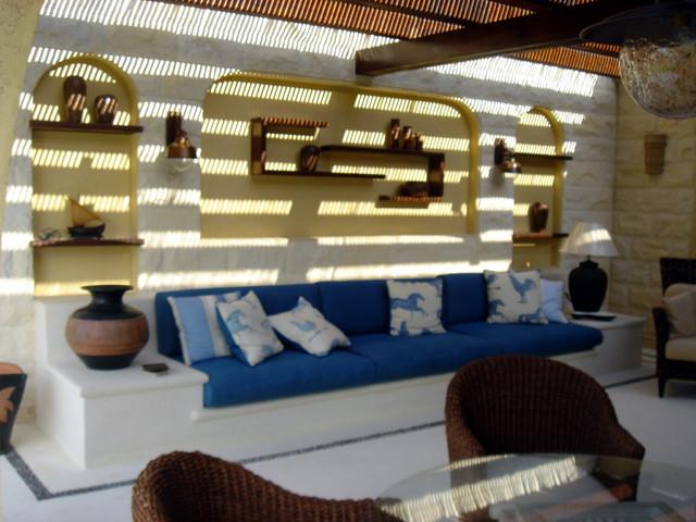 rania ramzi - interior designer mediterranean-patio