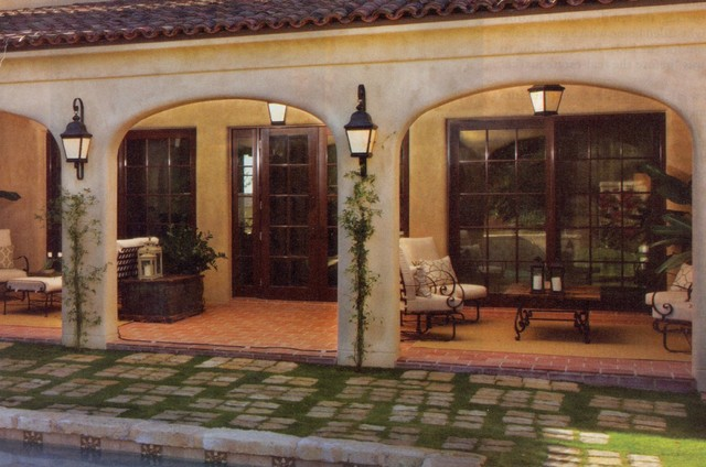 Outddoor Living Patio: Michelets Residence mediterranean-patio