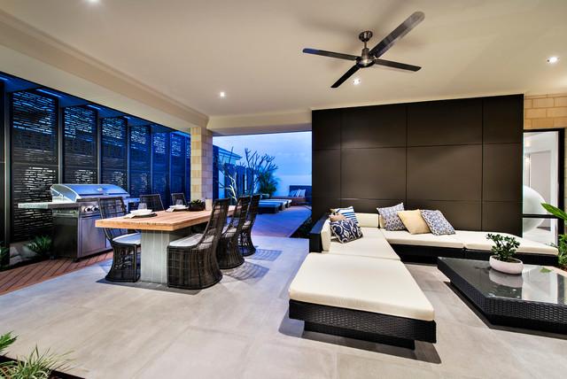 Outdoor Alfresco Exterior By Moda Interiors Perth Contemporary Patio