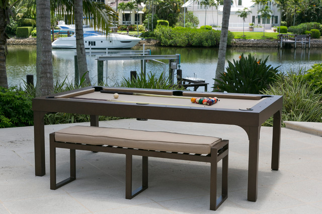 Outdoor All Weather Billiard Pool Table