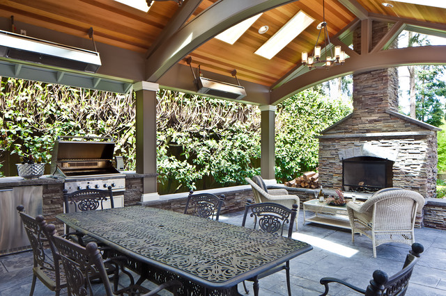 outdoor area traditional patio