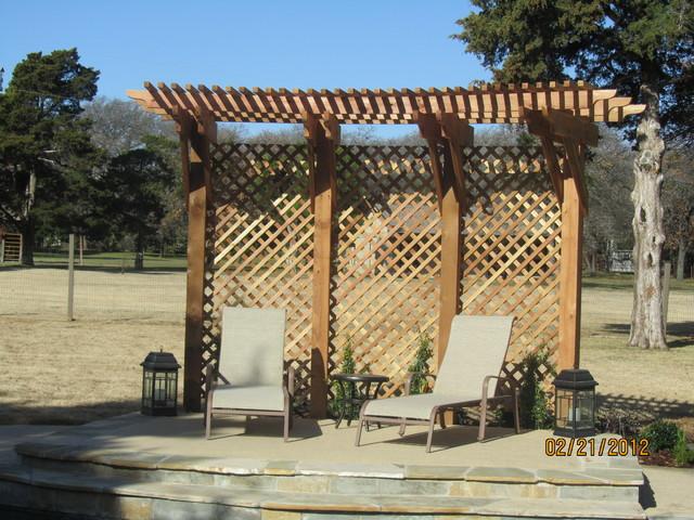 Outdoor areas traditional-patio