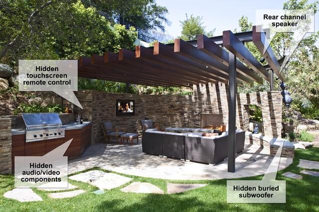Patio Sound System Design Ideas