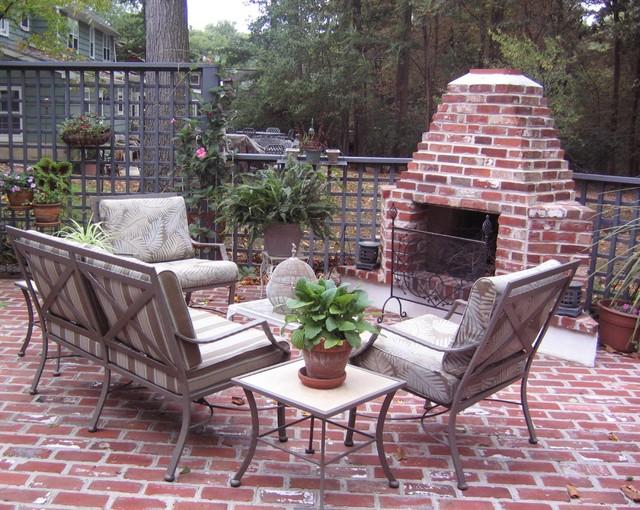Outdoor Brick Fireplacetraditional Patio Philadelphia