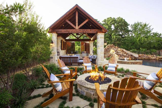 Outdoor Cabana A Private Sanctuary Rustic Patio