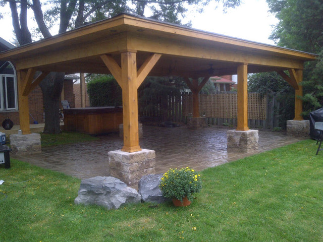 Superior Outdoor Cabana Shelter Contemporary Patio