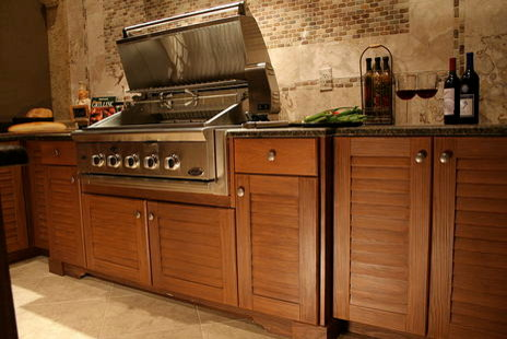 outdoor cabinets tropical patio atlanta by dewan cabinetry rh houzz com