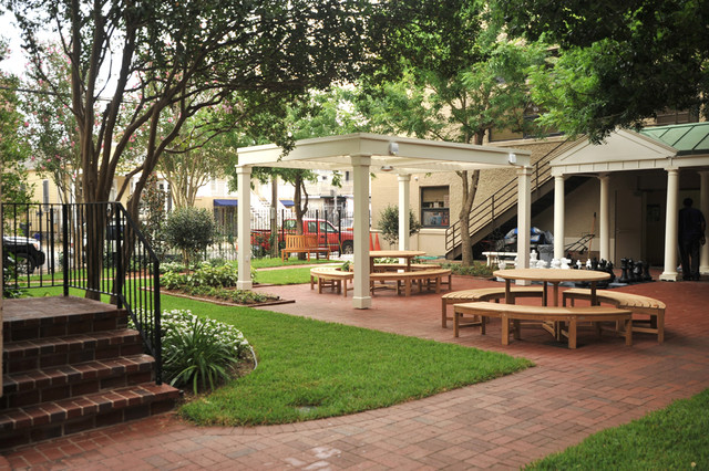Outdoor Classroom Design ~ Outdoor classroom traditional patio new orleans by