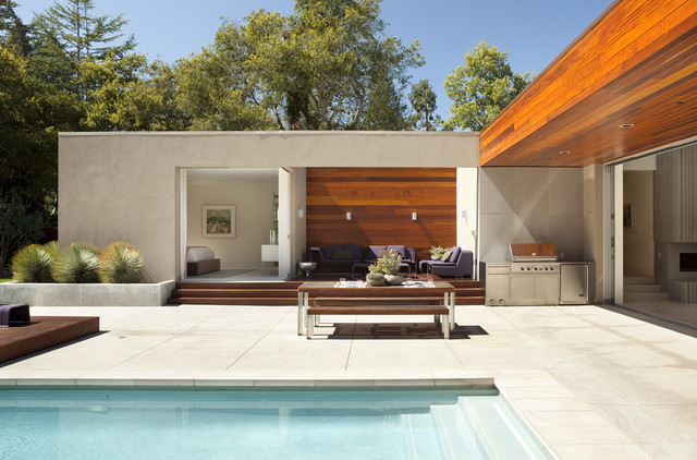 Outdoor Dining Modern Patio San Francisco By Dumican Mosey Architects