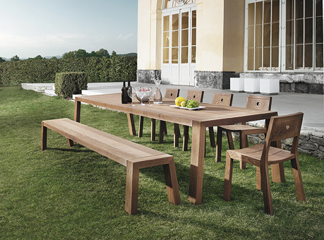 Outdoor Dining Table 02475 - Modern - Patio - other metro - by usona