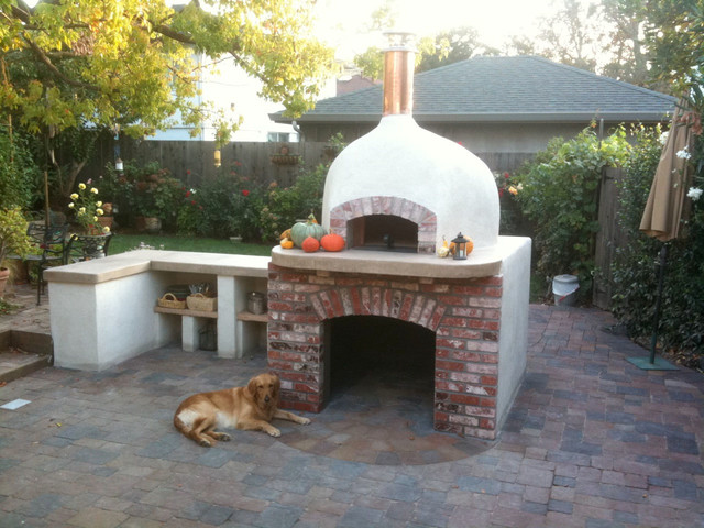 Outdoor Dome Roof Wood Fired Pizza Ovens Eclectique
