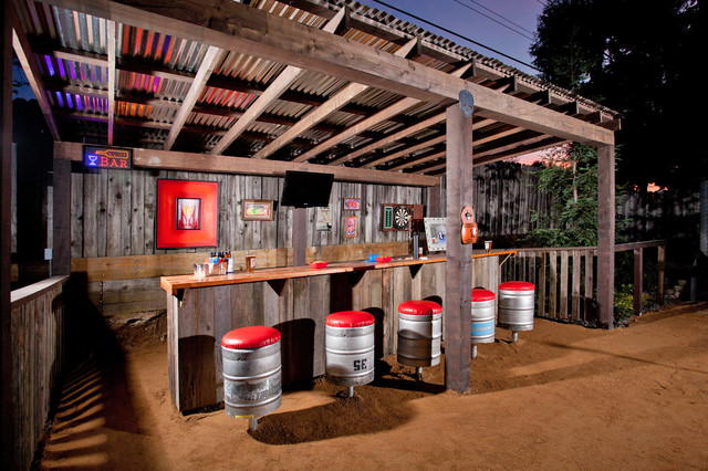 Outdoor Entertainment Rustic Patio San Francisco