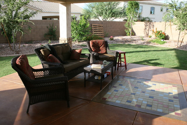 contemporary patio by Martin Construction and Remodeling