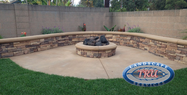 Outdoor Fire Pit rustic