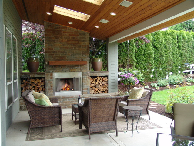 Houzz Outdoor Fireplace - Image Collections Norahbennett.com 2018 on decorating with faux fireplace, modern media wall with fireplace, decorative faux fireplace, remodeled basements with wood burning fireplace, distressed tin fireplace, wood ceiling great room with corner fireplace, opulent fireplace, see through indoor outdoor fireplace, outdoor deck design with fireplace, dining room designs with fireplace, modern family room with fireplace, rustic brick fireplace, craftsman style living room fireplace, ways to redo a fireplace, mission style fireplace,