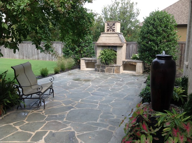 Outdoor fireplaces fire pits for Classic home designs collierville tn