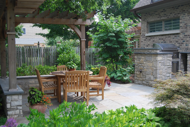 Outdoor Fireplaces and Grills traditional-patio
