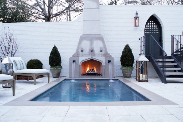 Outdoor Fireplaces By Firerock Traditional Patio
