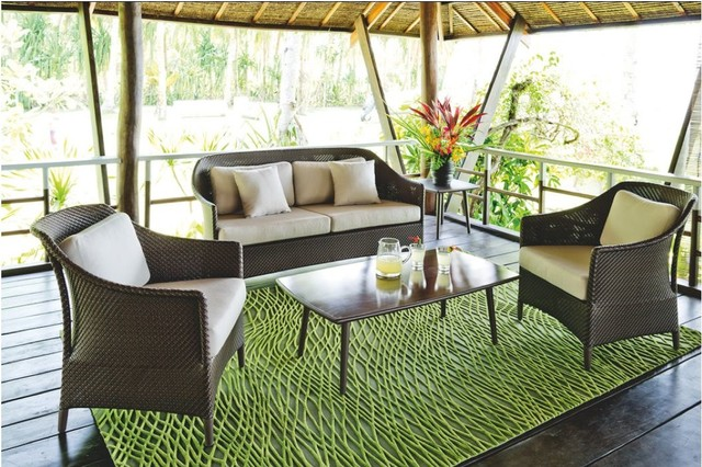Outdoor Furniture By Dedon Tropical Patio raleigh by Rodolfo Gonzales
