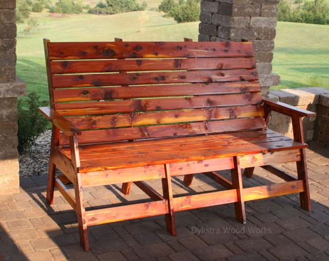 Outdoor Furniture Rustic Patio Other By Dykstra Wood Works