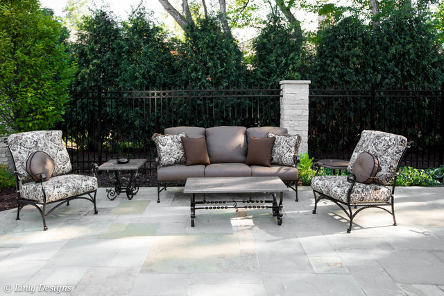 Outdoor Furniture Traditional Patio Chicago By Linly Designs