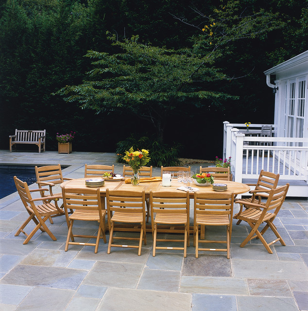 Outdoor Furniture Teak Traditional Patio Boston By Paine 39 S Patio