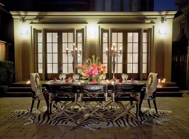 Outdoor Glam eclectic patio