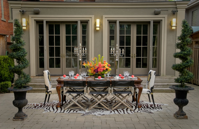 Outdoor Glam traditional-patio