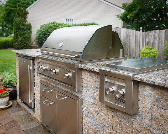 Outdoor Grilling Station - Traditional - Patio - Other ... on Patio Grill Station id=29681