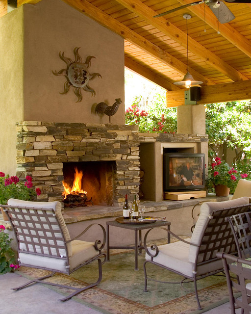 Outdoor kitchen traditional patio phoenix by for Outdoor kitchen ideas houzz